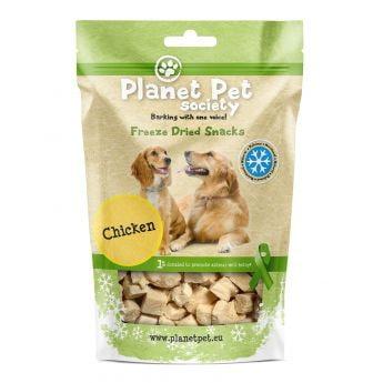 Planet Pet Society Frysetørket kylling (30 gram)**