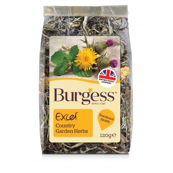 Burgess Excel Nature Hageurter (120 gram)**