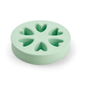 Little&Bigger Lovely Aktivitetsskål i Silikon Mintgrønn
