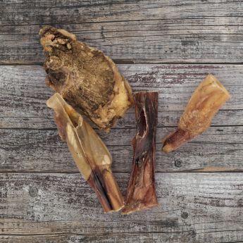 Eat Rustic endebiter av oksemuskler 130 g