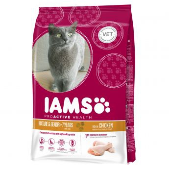 Iams Cat Mature & Senior Chicken