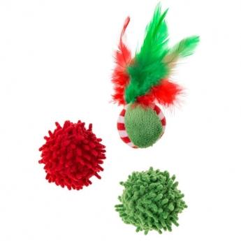Little&Bigger Holiday Parade Mixed Balls 3-pack