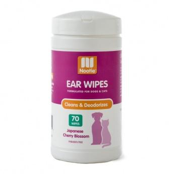 Nootie Ear Wipes Kirsebær Duft 70stk