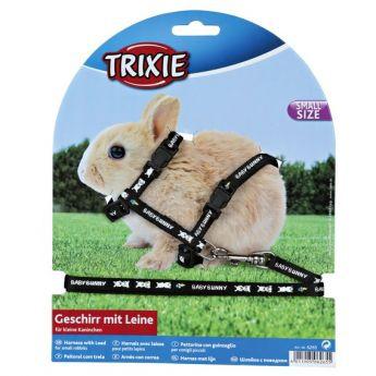 Trixie Kaninsele med koppel (nylon)