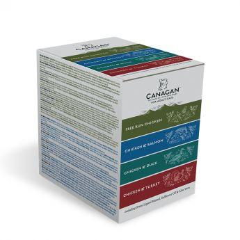 Canagan Katt Multipakke 8x85g