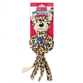 KONG Wubba No-Stuff Leopard