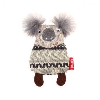 GiGwi PlushFriendz Strikket Koala (Grå)