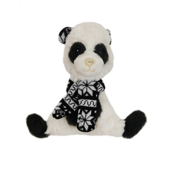 Bark-a-Boo Scandi FlatTriangle Panda (18 cm)