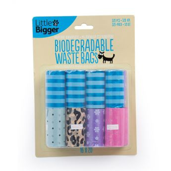 Little & Bigger hundepose nedbrytbar 16x20 assorterte farger