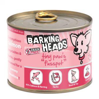 Barking Heads Tiny Paws Fusspot Laks og sild (200 gram)**
