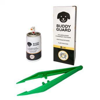 Buddyguard kjøle spray for flått 9 ml