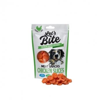 Brit Care Let'sBite Chicken Slices 80 g