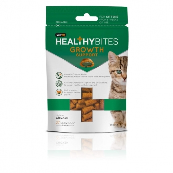 Healthy Bites Growth Support for Kittens 65g