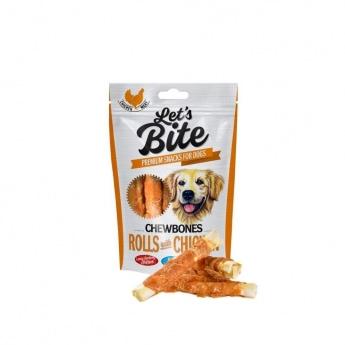 Brit Care Let'sBite Rolls with Chicken 110 g