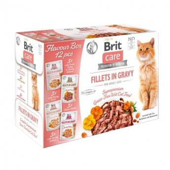 Brit Care Cat Gravy Multipack 12 x 85 g