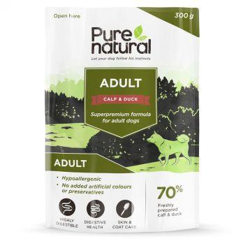Purenatural Dog Adult Calf & Duck 300 g