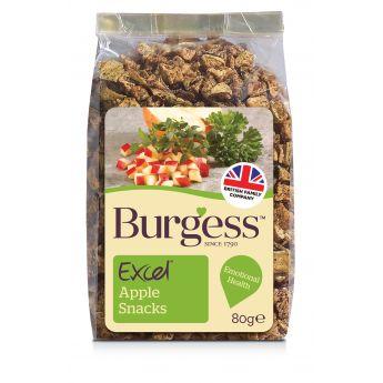 Burgess Excel Nature godbit eple (80 gram)**