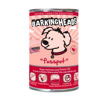 Barking Heads Fusspot Laks & Sild (400 gram)**