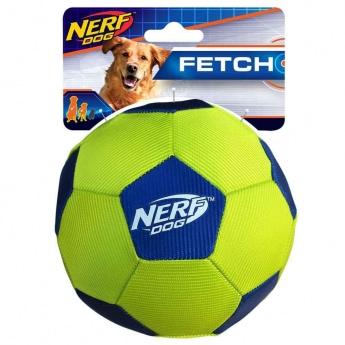 NERF Dog Airtuff Fotball Lime Blå
