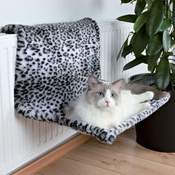 Trixie Radiator seng leopardmønster**