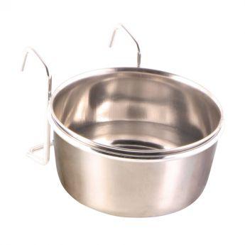 Trixie Bolle i rustfritt stål med stativ (300 ml)