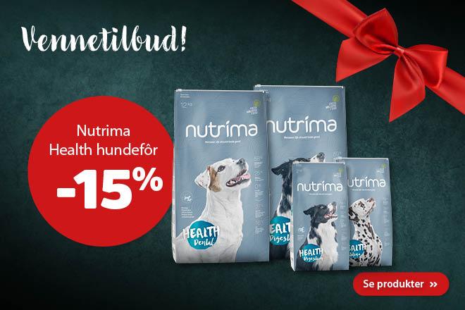 -15% på Nutrima Health