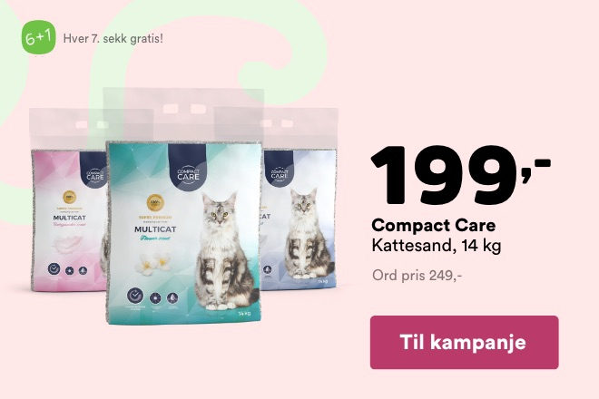 Kun 199,- for Compact Care 14 kg
