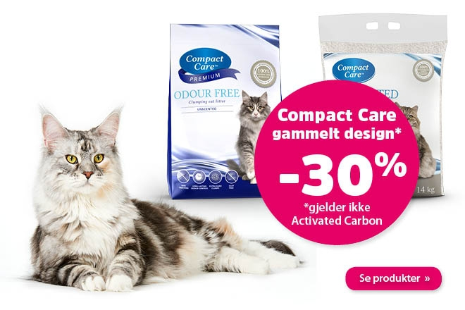 30% på Compact Care