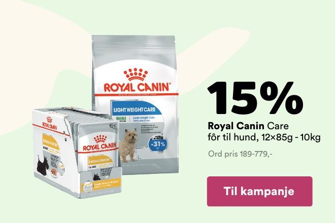 -15% på Royal Canin Care-range