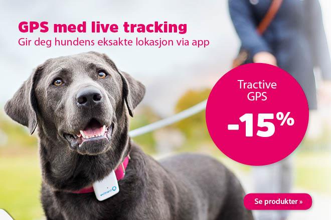 15% på Tractive GPS