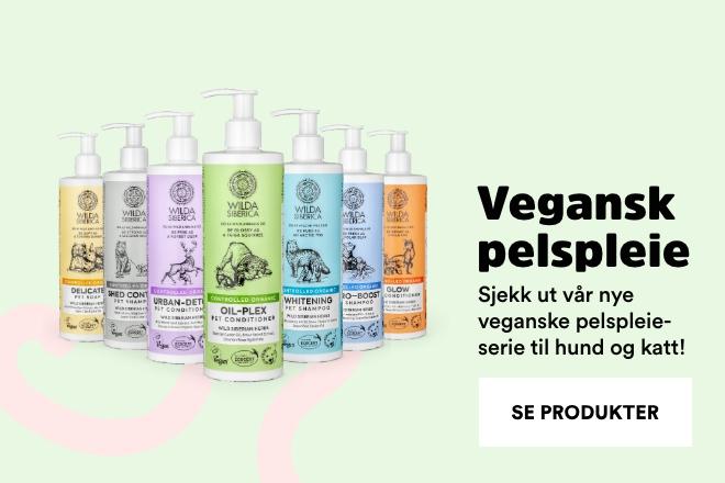 veganske pelspleieprodukter