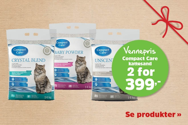 2 for 399,- Compact Care 14kg