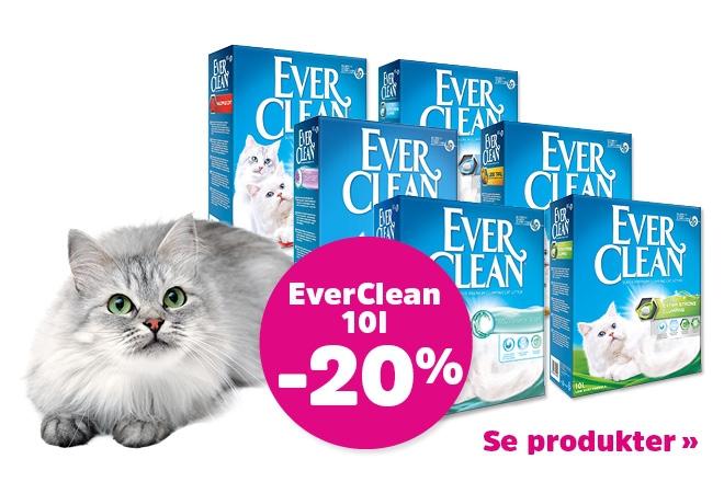 20% på Ever Clean!