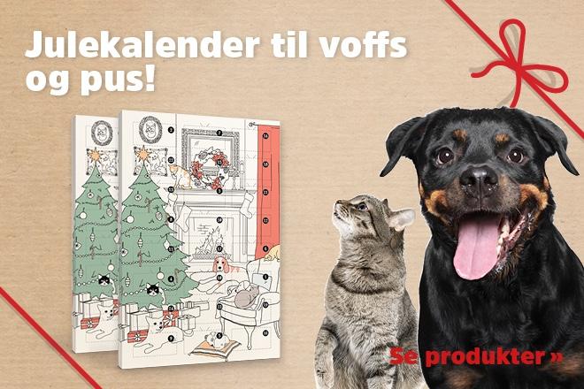 Julekalender til hund og katt!