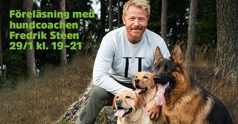 Föreläsning med Fredrik Steen