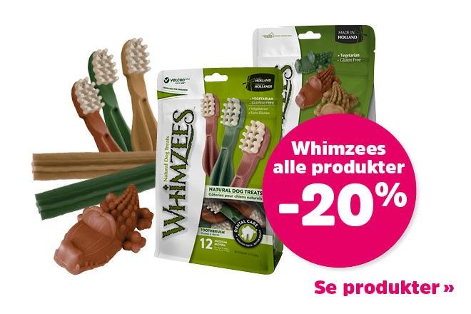 20% på Whimzees