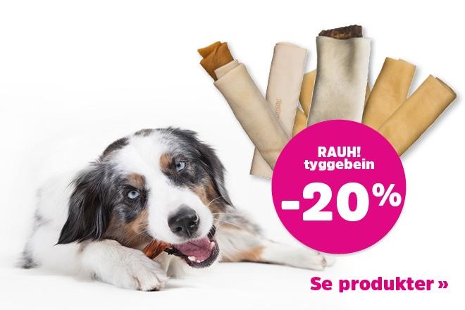 20% på alt fra RAUH!