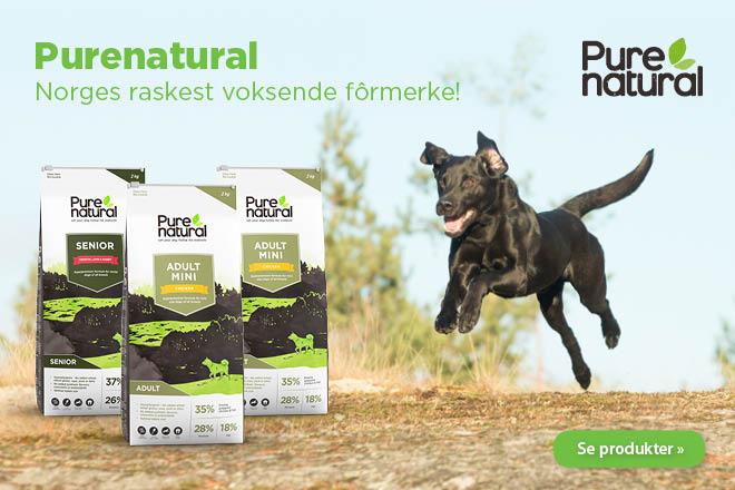 Purenatural - inneholder kun naturlige råvarer