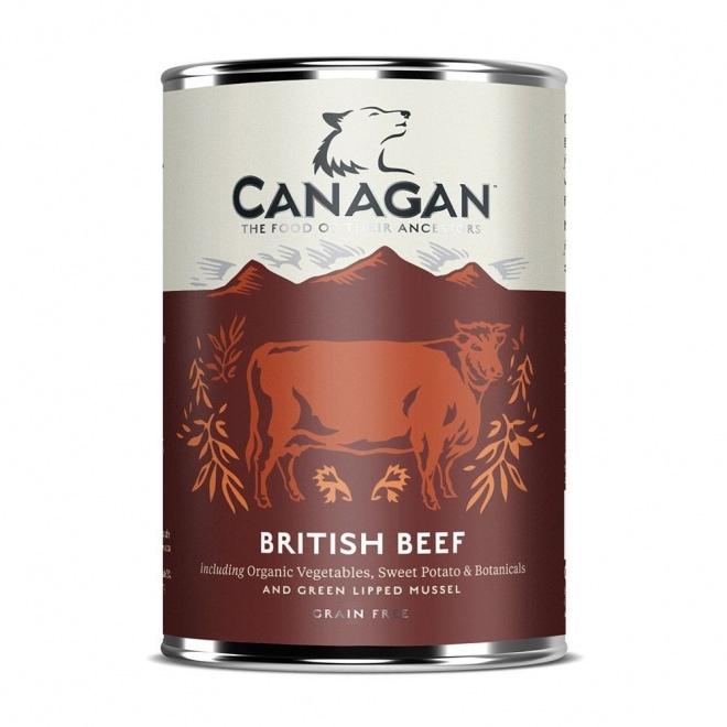 Canagan Britisk Biff 400g