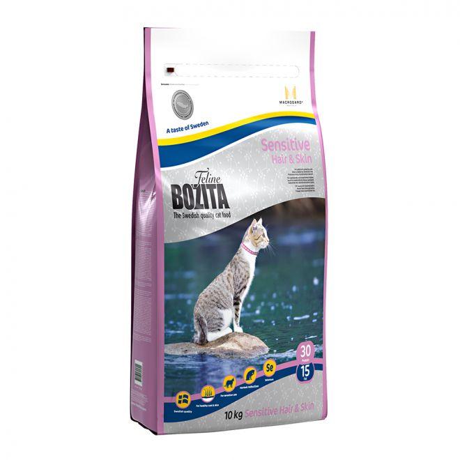 Bozita Feline Sensitive Hair & Skin (10 kg)