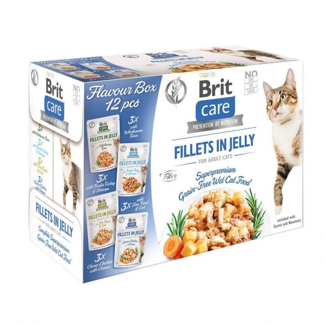 Brit Care Cat Jelly Multipack 12 x 85 g