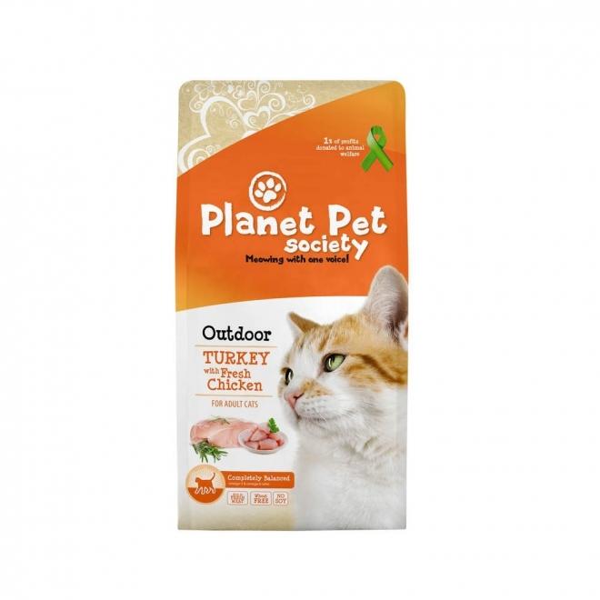 Planet Pet Society Outdoor Turkey & Fresh Chicken (7 kg)