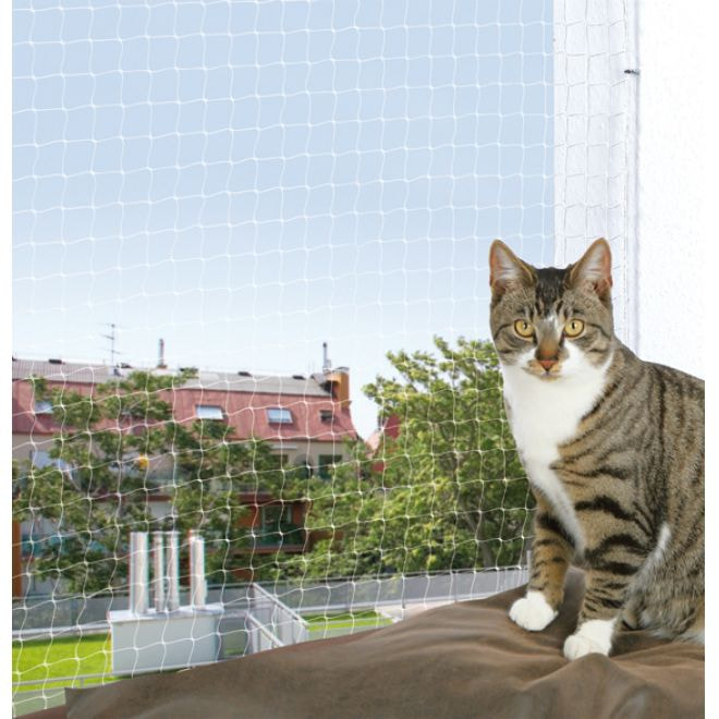 Trixie Cat Protect Kattnät Transparent (4 m)