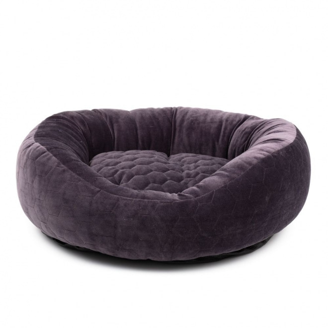 Basic Velvety seng grå
