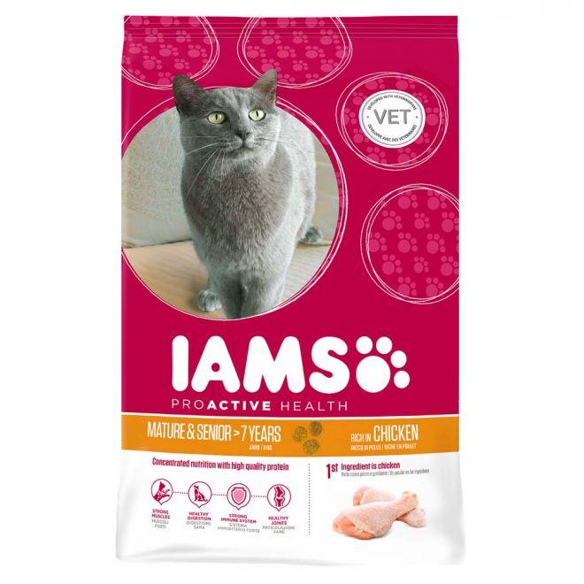 Iams Cat Mature & Senior 7+ (2.5 kg)