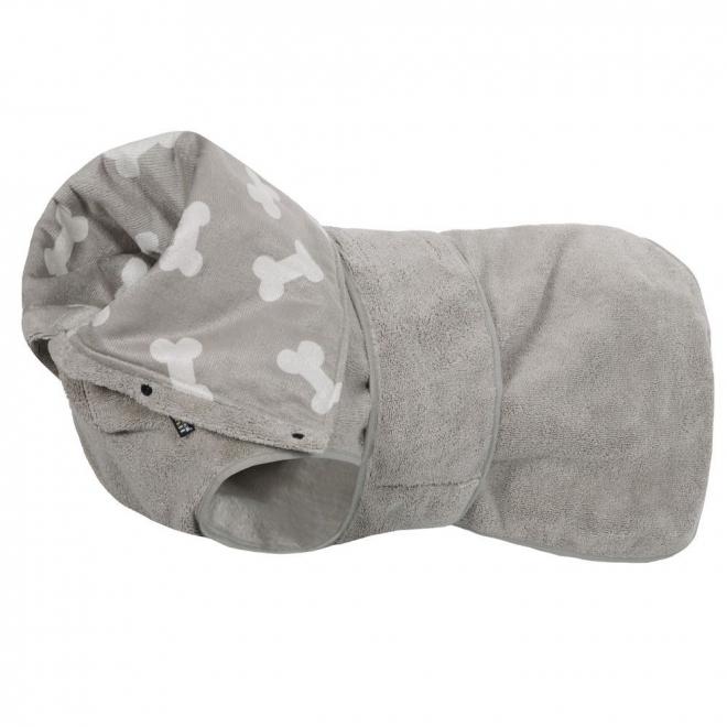 Rukka Soft badekåpe grå