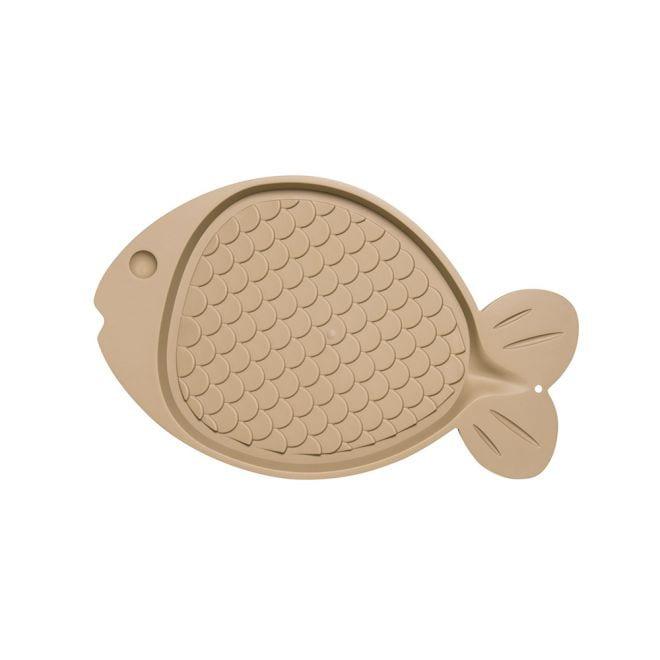 Little&Bigger Fish Cat underlag fisk (Beige)