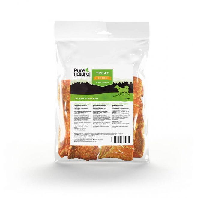 Purenatural kyllingfiletstrimler (120 gram)