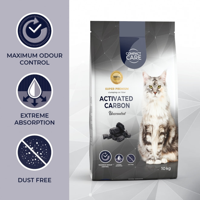Compact Care Activated Carbon Unscented 10 kg