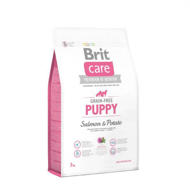 Brit Care Grain-Free Puppy Salmon & Potato (3 kg)